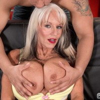 Sixty + Milf Sally D'Angelo Gets Her Butt Fucked