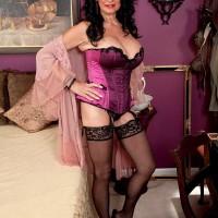 Kinky 60+ Babe Rita Daniels Loves The Cock