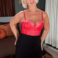 Two Meat sticks For Over 60 Milf Jeannie Lou